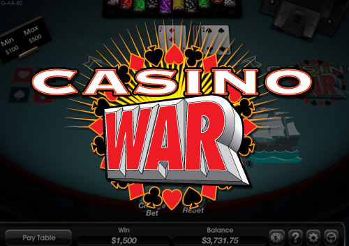 The simple explanation of online Casino War